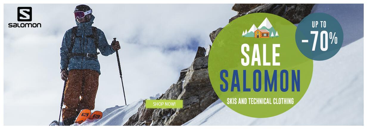 Come discover Salomon produtcs on sale!