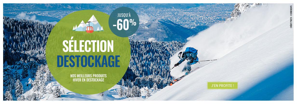 Découvrez notre sélection de nos meilleurs produits hiver en destockage !