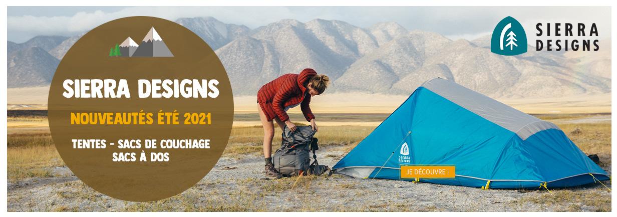 Découvrez les nouveautés Sierra Designs 2021 : tentes, sacs de couchage...