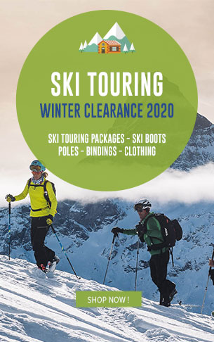Ski Touring Winter Clearance : Ski sets, boots, pôles, binding…