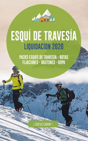 Esqui de Travesia Liquidacion : Packs Esqui de Travesia, Botas, Fijaciones, Bastones, Ropa…