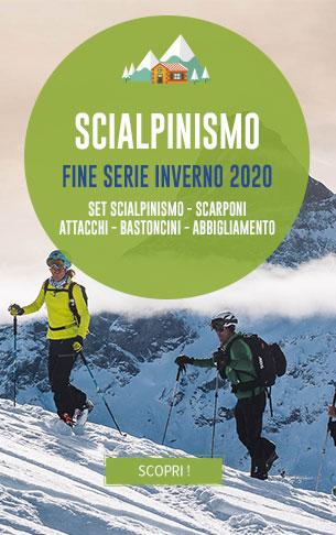 Fine serie Inverno 2020 : Sci, Scarponi, Bastoncini, Abbigliamento…
