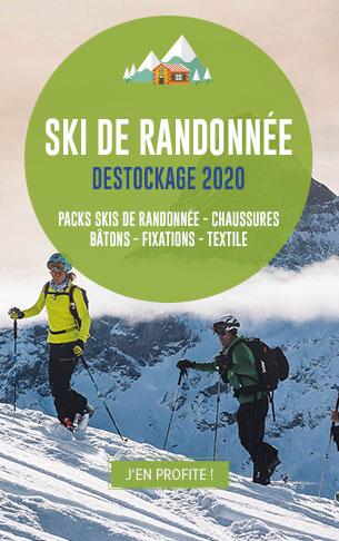 Profitez des plus grandes marques de Ski de Randonnée en destockage !