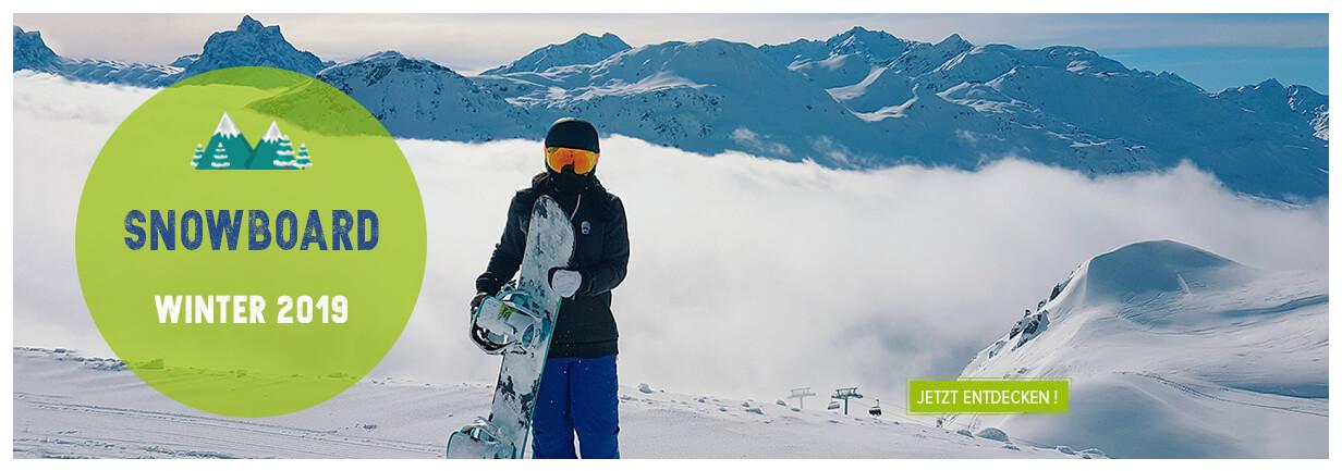 Snowboard Wintersaison 19 !