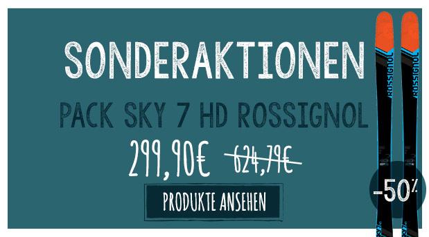 Sonderaktionen : ski sky 7 à -50% !