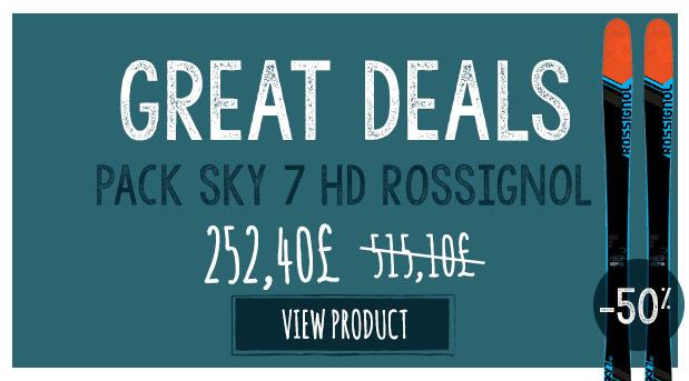 Great deal :  sky 7 à ski -50% !