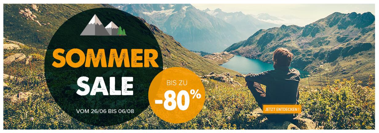 Schlagen Sie zu, es gibt Sommerschlussverkauf bei Snowleader. Bis zu -80 % auf eine Auswahl von mehr als 10 000 Produkte