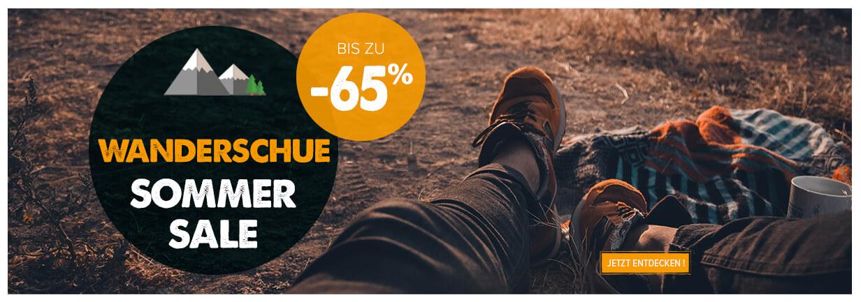 Wanderschue sommer sale bis zu -65%