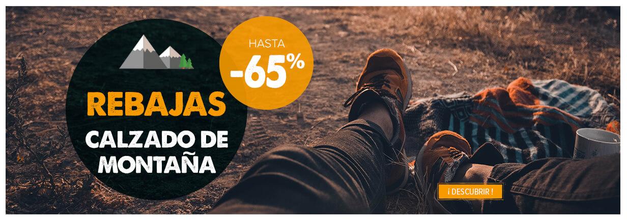 Rebajas calzado de montana hasta -65%