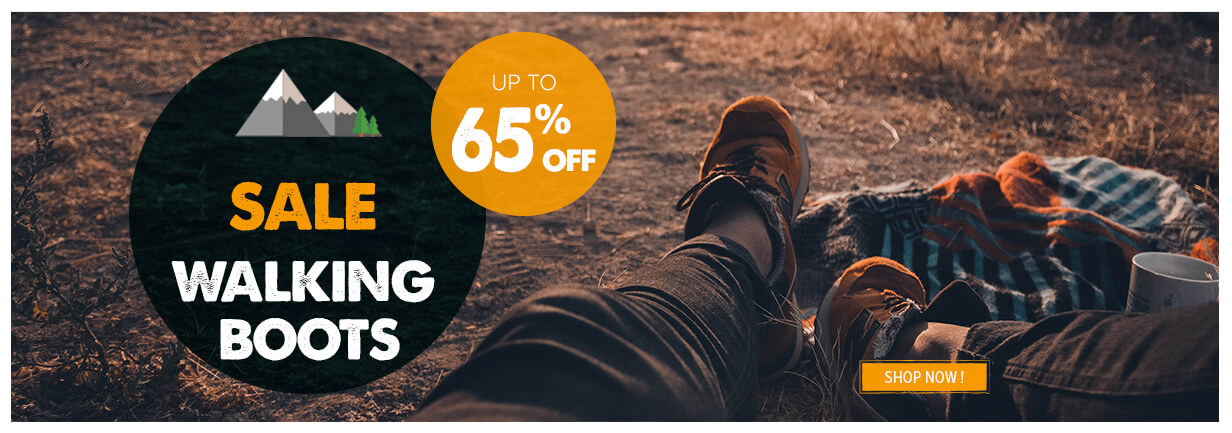 Summer Sale walking boot up to 65% off