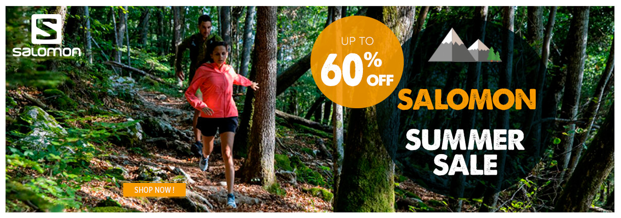 Summer sale Salomon, up to 60% off
