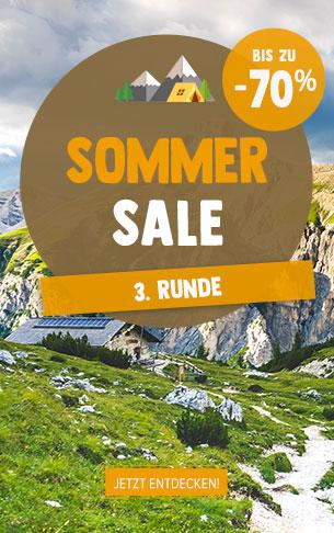Es ist der 3. Runde Sommer sale! Entdecken Sie unsere Verkaufsprodukte