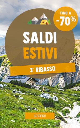 3° Ribasso Saldi Estivali! Scopri i nostri prodotti in saldi