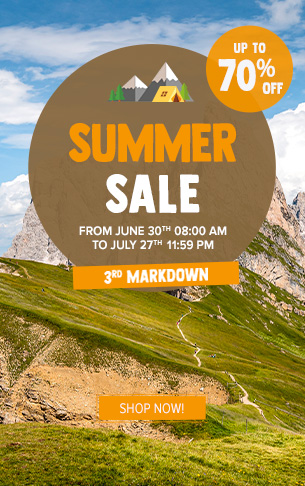 Summer Sale: up to 70% off !