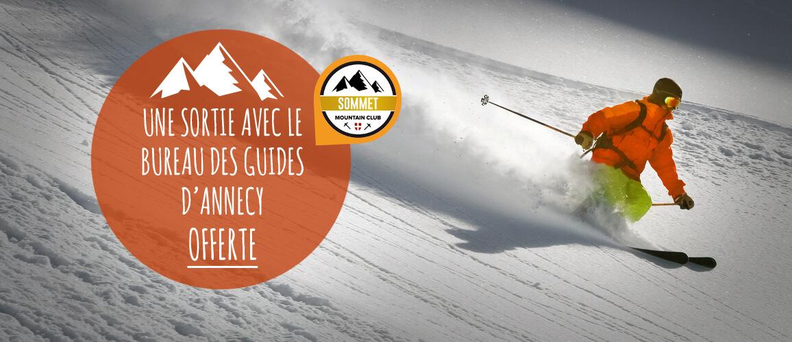 snowleader vous offre une sortie avec un guide
