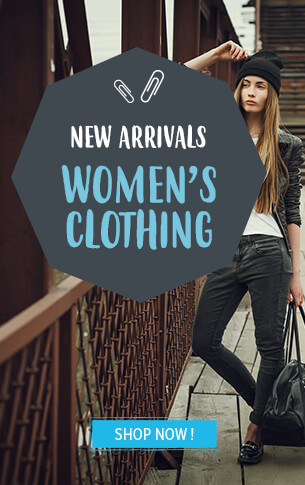 Come discover our Women's clothing collection !