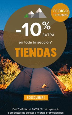 -10% extra en toda la sección Tiendas
