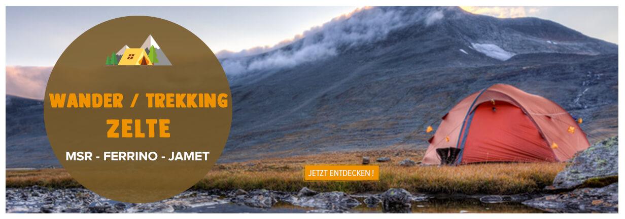 Wander / trekking: MSR, Ferrino, Jamet...