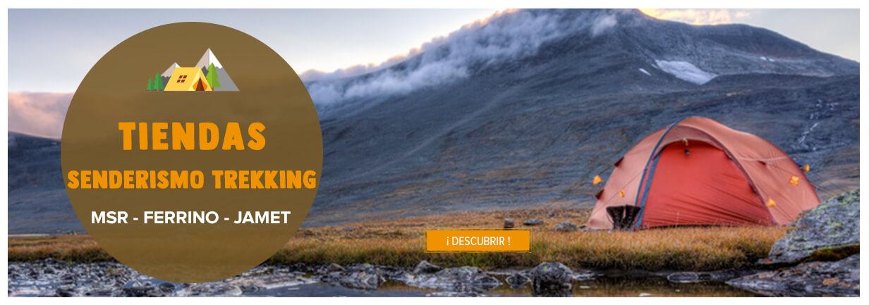 Tiendas senderismo trekking: MSR, Ferrino, Jamet...