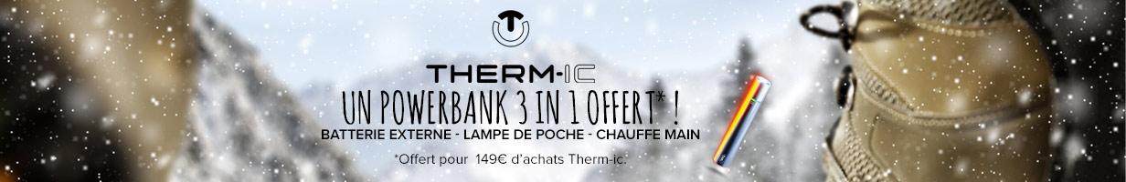 Thermic : powerbank offert
