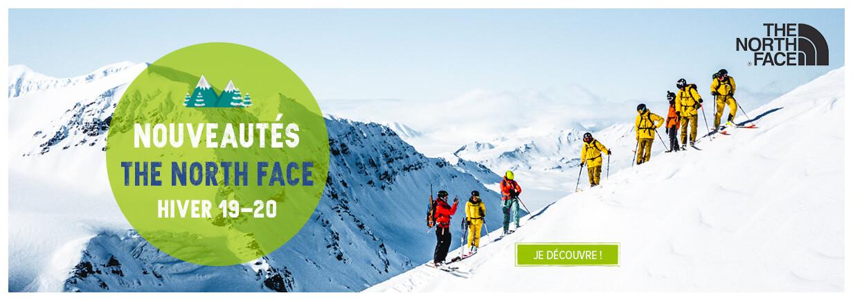 Nouveautés The North Face hiver 19-20