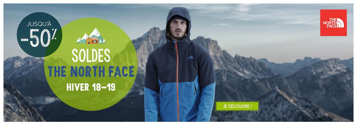 The North Face en soldes !