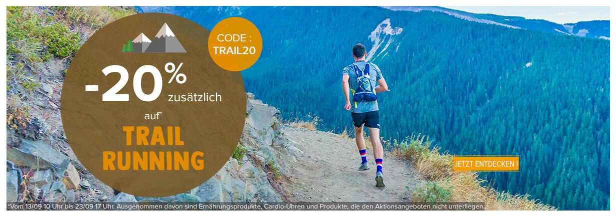 -15% zusätzlich auf Trail Running !