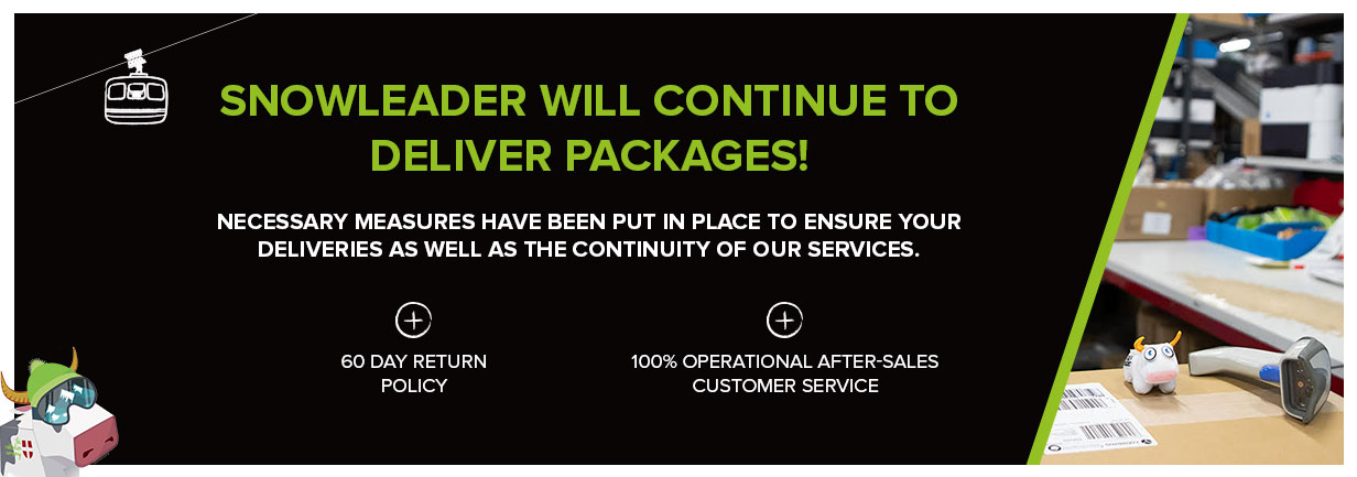 Snowleader will continue to deliver packages!
