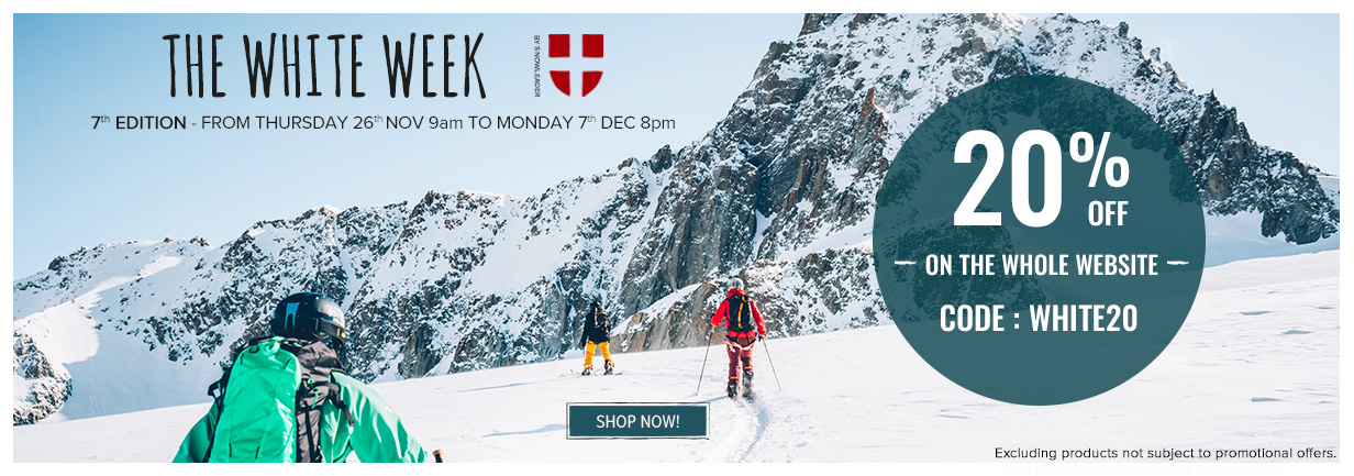 Come discover our White week Black Friday